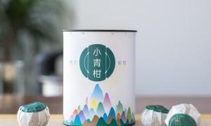 山川饮2020新茶正宗新会小青柑普洱茶陈皮熟茶柑普橘茶叶100g罐装
