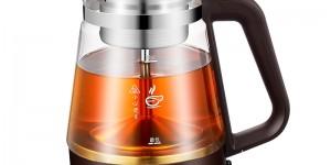 志高煮茶器黑茶煮茶壶家用全自动蒸汽玻璃电热水壶花茶普洱蒸茶壶
